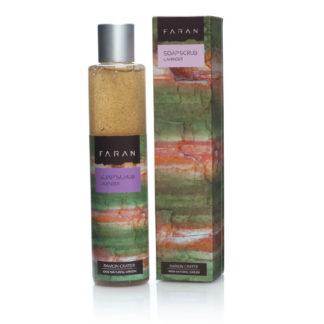 Økologisk dusjgelé – lavendel og knuste olivenkjerner [Faran]