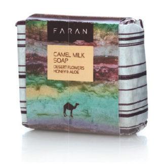 Økologisk kaldpressa kamelmelk såpe – med ørkenhonning og aloe vera [best før 04-22]