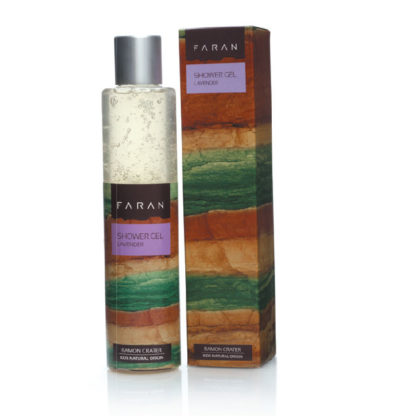 Økologisk dusjgelé – avslappende lavendel [Faran]