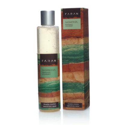 Økologisk dusjgelé – rosmarin og peppermynte [Faran]