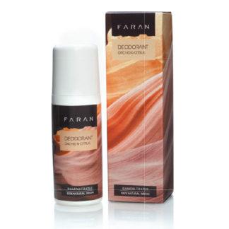 Økologisk deodorant – sitrus – uten aluminium, alkohol, parabener [Faran]