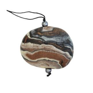 Natursåpe med tråd – Brun ris [StoneSoapSpa]