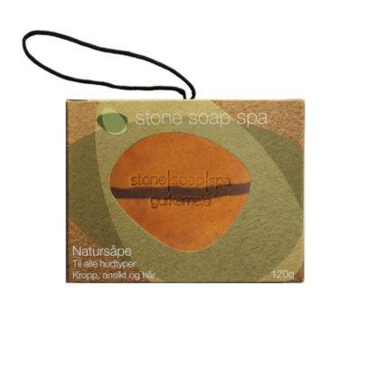 Natursåpe med tråd – Gurkemeie [StoneSoapSpa]