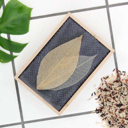 Såpeblad – brun ris og peppermynte