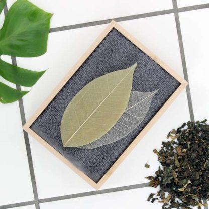 Såpeblad – grøn te og lavendel