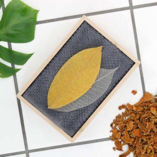 Såpeblad – gurkemeie og peppermynte