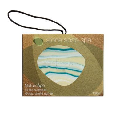 Natursåpe med tråd – Silke [StoneSoapSpa]