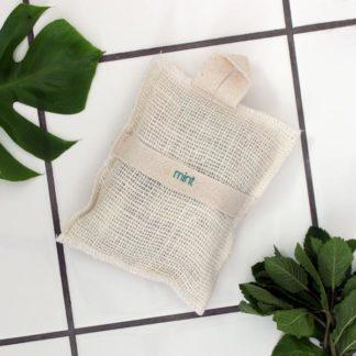 Små såpestykker i vaskevott – mint [StoneSoapSpa]