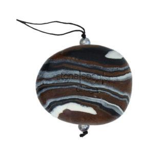 Natursåpe med tråd – Chaga [StoneSoapSpa]