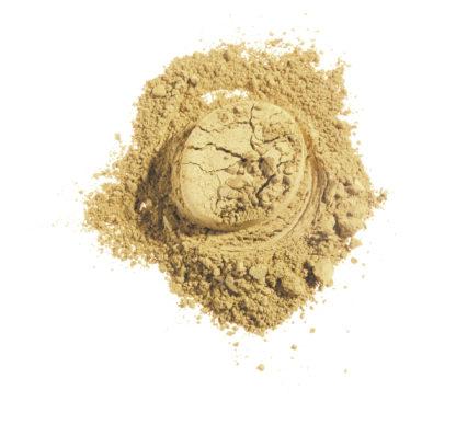 Økologisk mineral øyenskygge – Gold Shine (4g) [Faran]