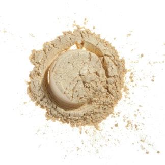 Økologisk mineral øyenskygge – Snow White (4g) [Faran]