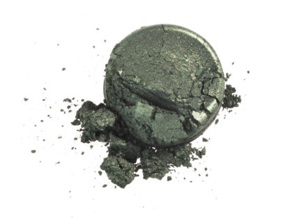 Økologisk mineral eyeliner – Metallic green (3g) [Faran]