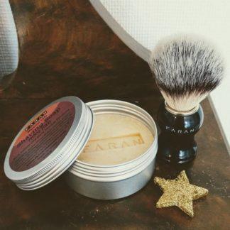 Barberingsett – såpe og kost