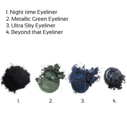 Økologisk mineral eyeliner – Night time (3g) [Faran]