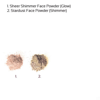Økologisk mineral face powder – Sheer shimmer (6g) [Faran]