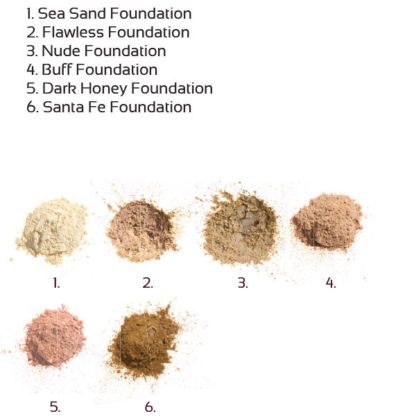 Økologisk mineral foundation – Flawless (8g) [Faran]